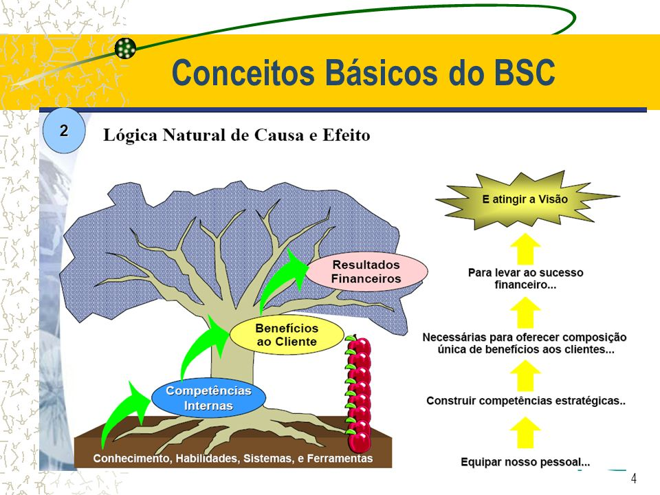 4 Conceitos Básicos do BSC