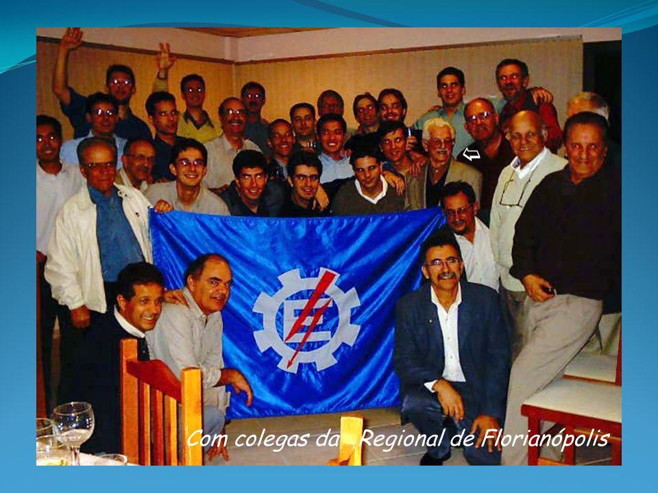 Com colegas da Regional de Florianópolis