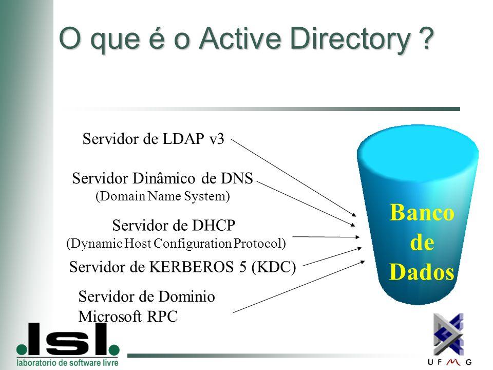 O que é o Active Directory .