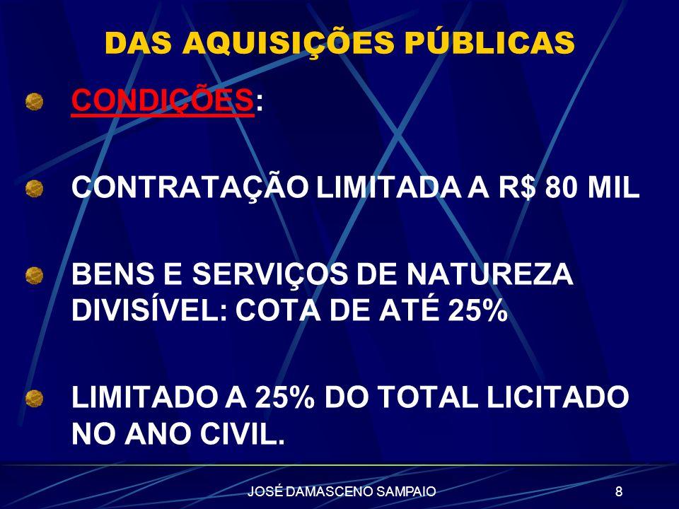 JOSÉ DAMASCENO SAMPAIO9 SÃO PAULO INCENTIVO FISCAL NO ICMS PROJETO DO GOVERNO: CONCESSÃO DE CRÉDITO DE 30% DO ICMS UTILIZAÇÃO: PAGAMENTO DO IPVA, CONTA CORRENTE, POUPANÇA, CARTÃO DE CRÉDITO, TRANSFERIDOS A TERCEIROS (PF OU PJ).
