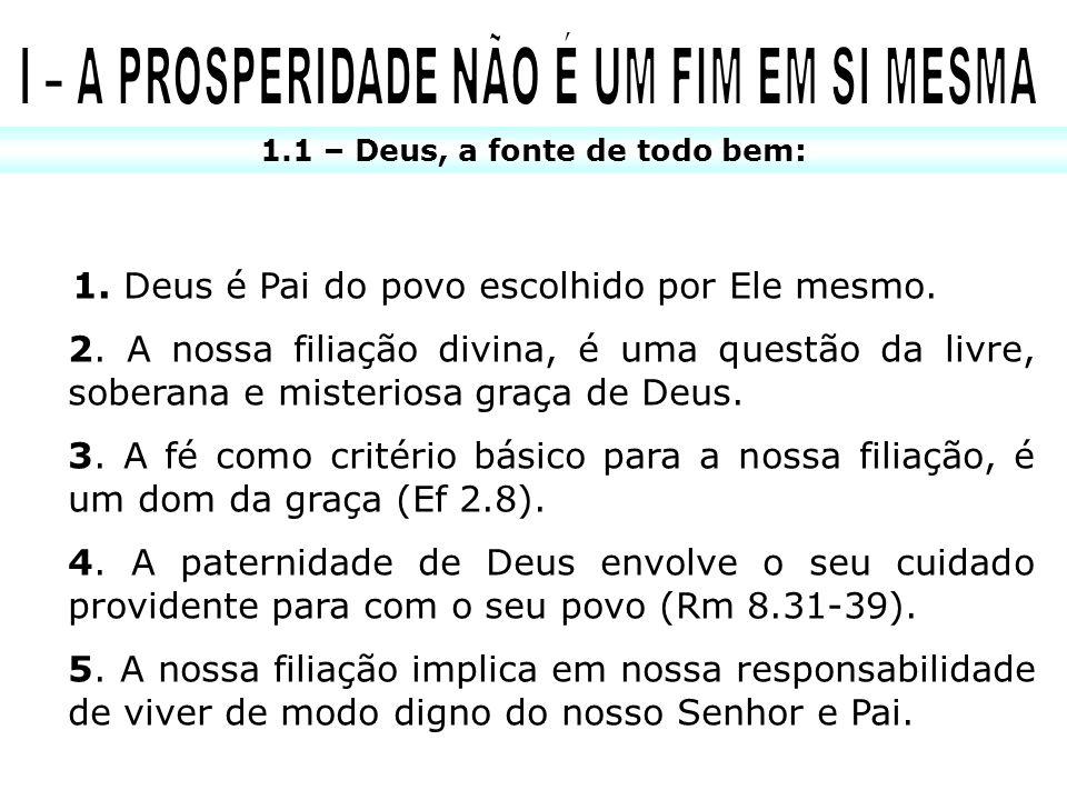 1.2 – Despenseiros de Deus: COMUNHÃO COM DEUS, COM OS SANTOS E CONSIGO MESMO – VERDADEIRA RIQUEZA .