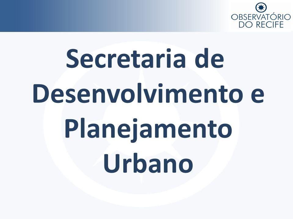 Secretaria de Desenvolvimento e Planejamento Urbano