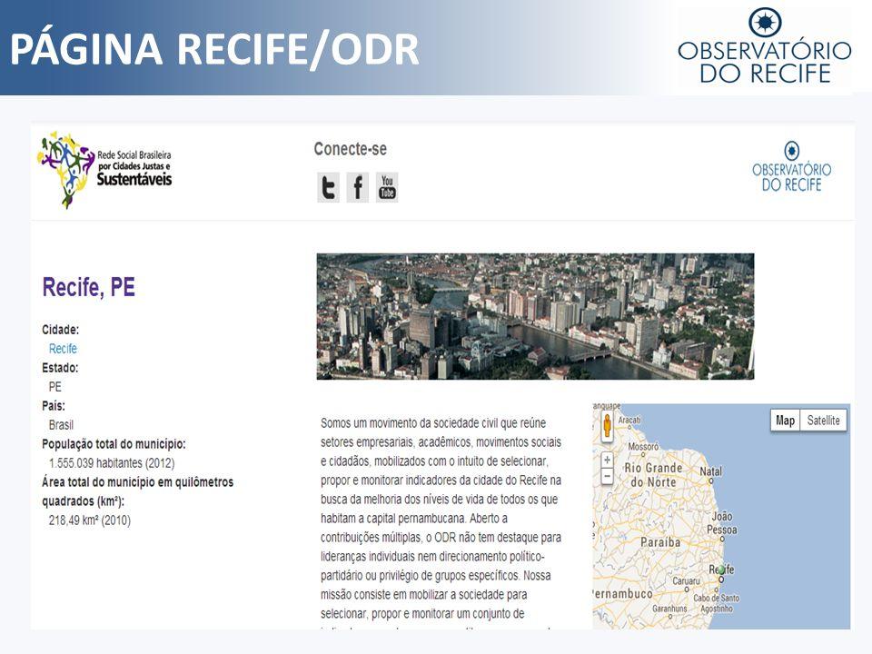 PÁGINA RECIFE/ODR