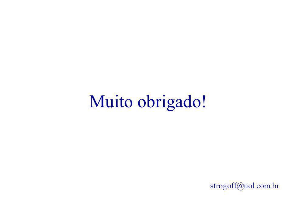 Muito obrigado! strogoff@uol.com.br