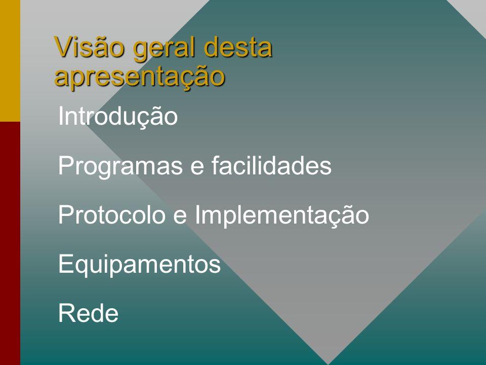 Introdução O APRS é um sistema aberto que usa pacotes desconectados de radio pacote para transmitir e coletar dados.