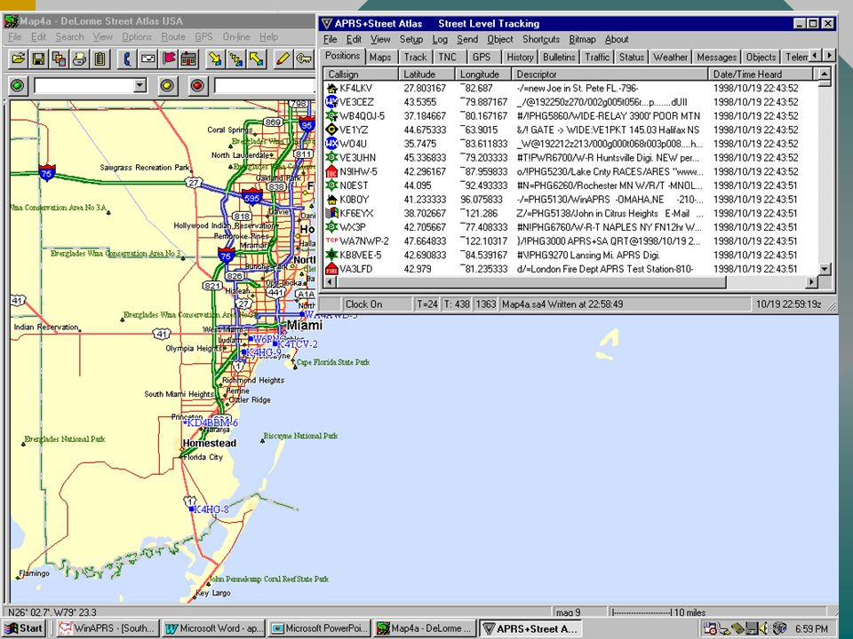 Traknet Estações em áreas isoladas podem acessar satélites com 10W e uma antena 5.8 em 144.90MhzEstações em áreas isoladas podem acessar satélites com 10W e uma antena 5.8 em 144.90Mhz Chip $3 XOR converte um TNC em um PSK com uma simples chaveChip $3 XOR converte um TNC em um PSK com uma simples chave Estações base recebem os pacotes e enviam para os servidores de APRS na InternetEstações base recebem os pacotes e enviam para os servidores de APRS na Internet