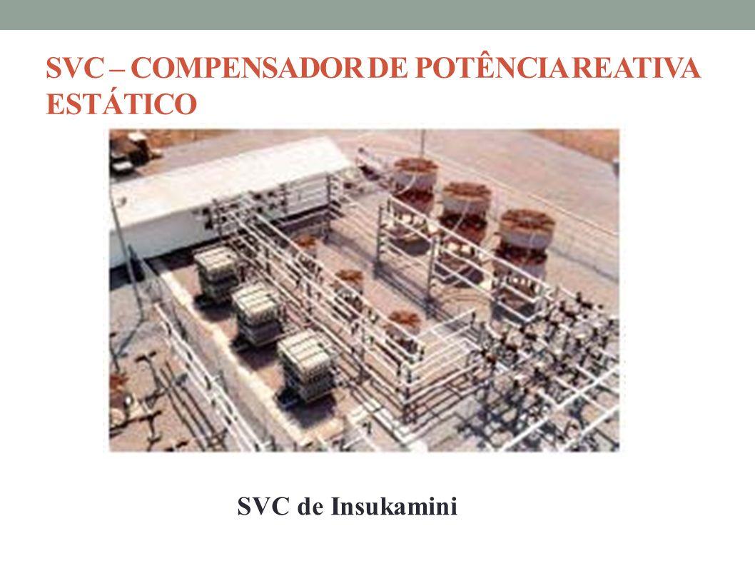 SVC – COMPENSADOR DE POTÊNCIA REATIVA ESTÁTICO SVC de Insukamini
