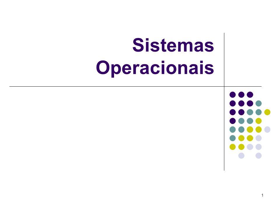 1 Sistemas Operacionais