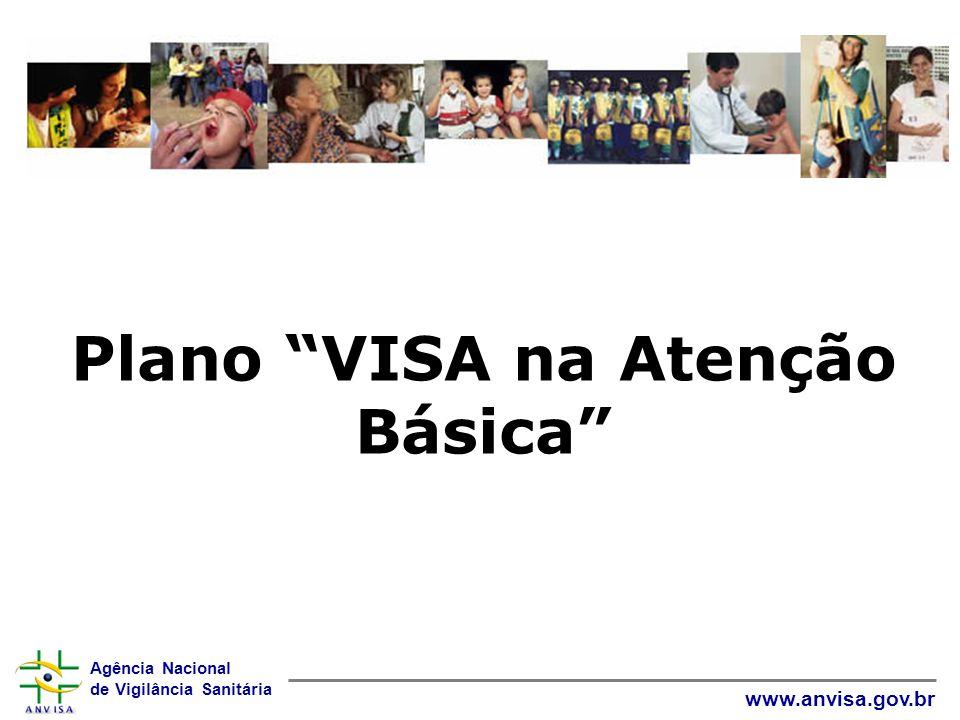 Agência Nacional de Vigilância Sanitária www.anvisa.gov.br Participantes : ANVISA: COPRH – ADAVS – NAEST MS: DAB/SAS – SGTES – SVS CIT VISA CONASS CECOVISA NESCON/UFMG Coordenação Geral: COPRH/ANVISA