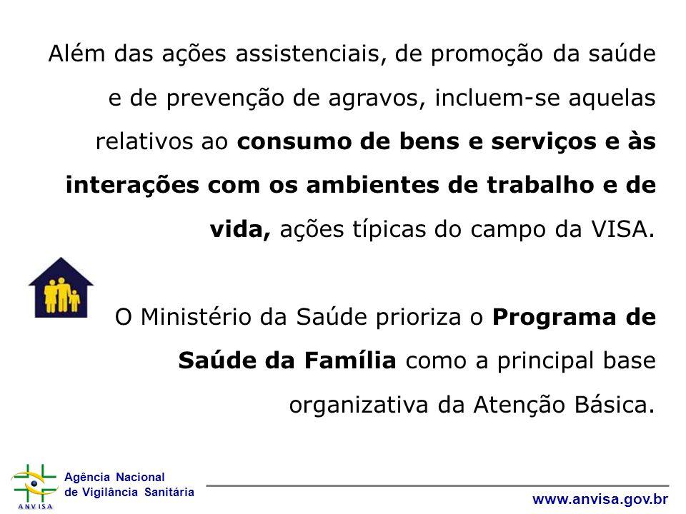 Agência Nacional de Vigilância Sanitária www.anvisa.gov.br Ações realizadas e em andamento: Apresentação e pactuação do Plano DICOL, CIT VISA, áreas do MS, OPAS, etc.