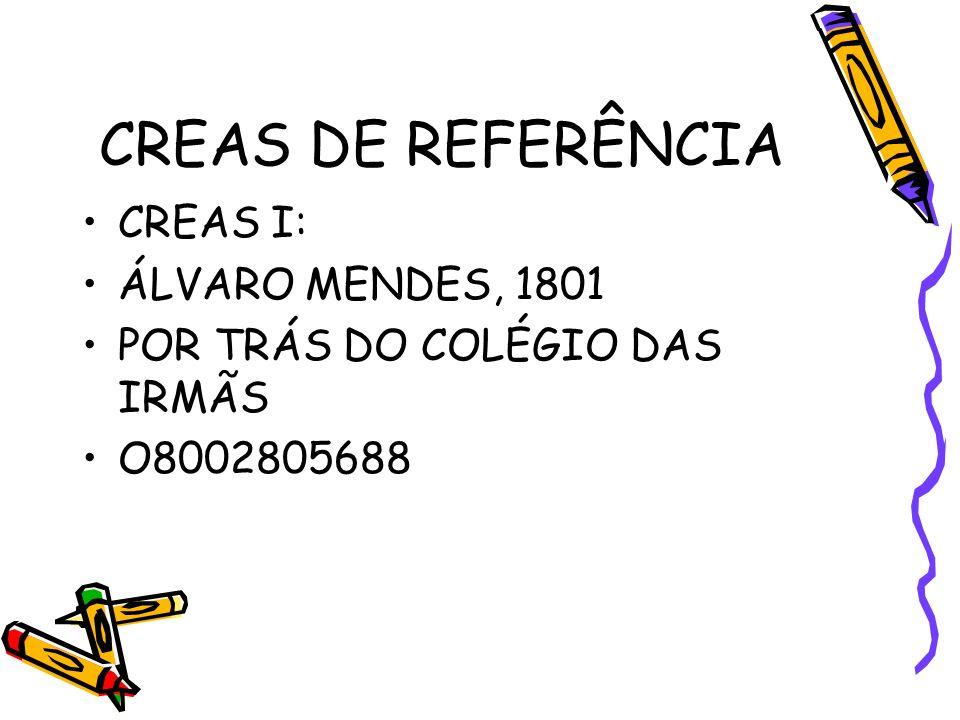 CRAS DE REFERÊNCIA DA ANBEAS CRAS NORTE III ENDEREÇO: Qd – 39 / Cs – 22 / St – A Mocambinho COORDENADOR/GERENTE: Lucélia de Oliveira FONE: 9403-4177 P