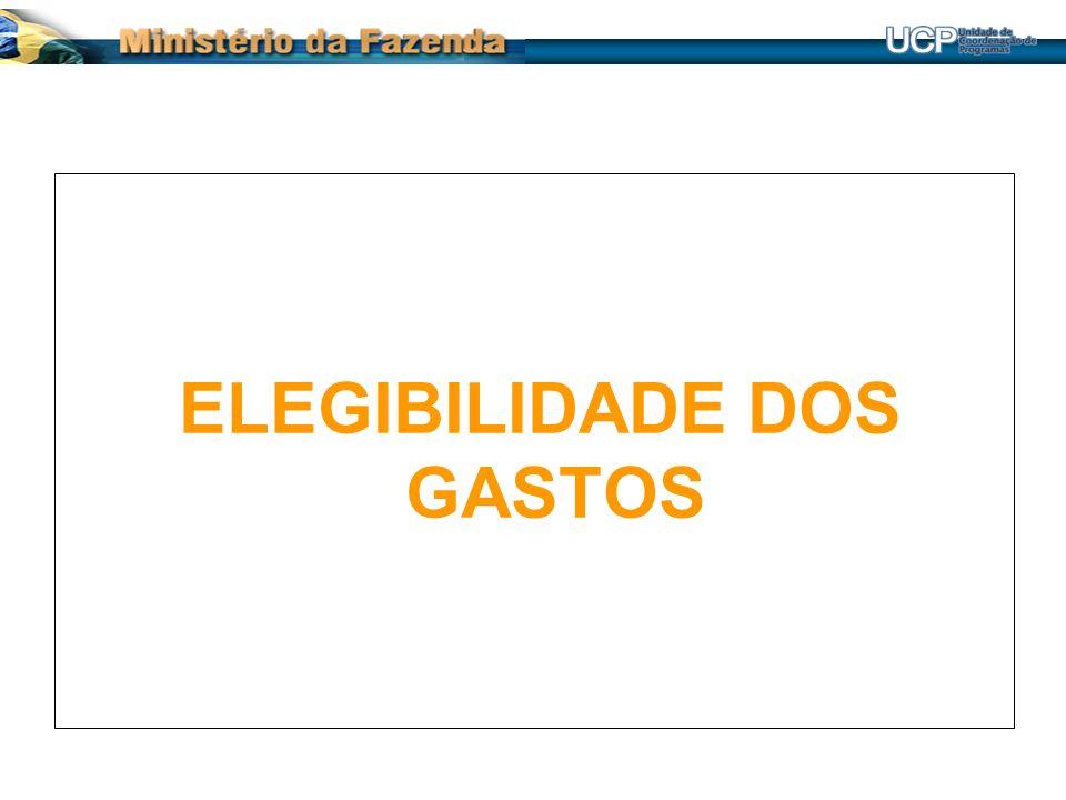 ANÁLISE DA ELEGIBILIDADE DOS GASTOS PELA CAIXA Dossiê da aquisição/contratação está completo.
