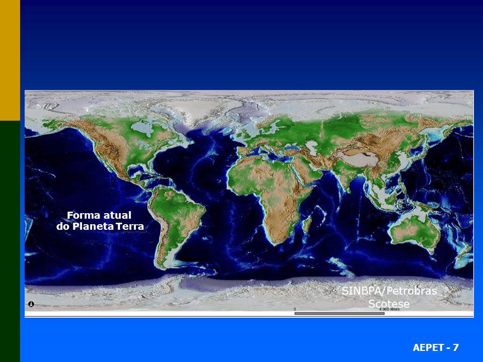 AEPET - 7 164 Milhões de anos atrás 152 Milhões de anos atrás 130 Milhões de anos atrás 122 Milhões de anos atrás 108 Milhões de anos atrás 79 Milhões