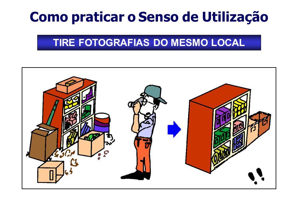 Como praticar o Senso de Utilização TIRE FOTOGRAFIAS DO MESMO LOCAL
