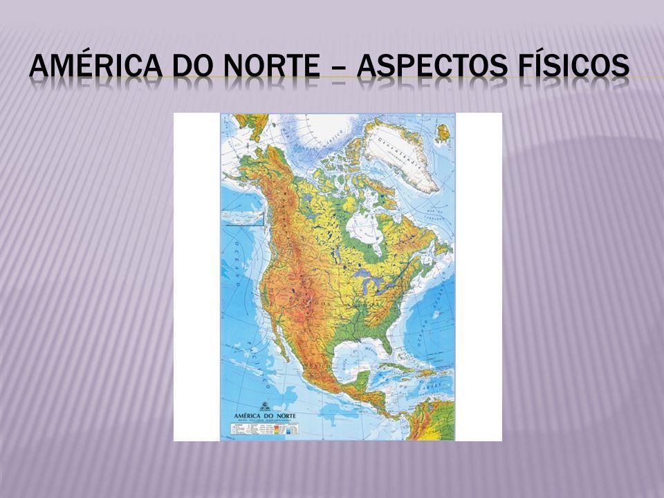 Entre essas duas extensas cadeias montanhosas, há planícies e pradarias cujos ambientes e seres vivos se modificam durante o percurso para o sul, desde o gelado Ártico até os trópicos da América Central.