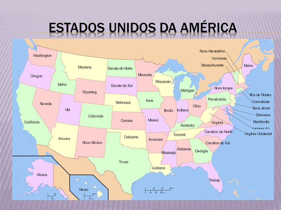 Os Estados Unidos da América (em inglês: United States of America), ou simplesmente Estados Unidos (em inglês: United States), são uma república constitucional federal composta por cinquenta estados e um distrito federal.