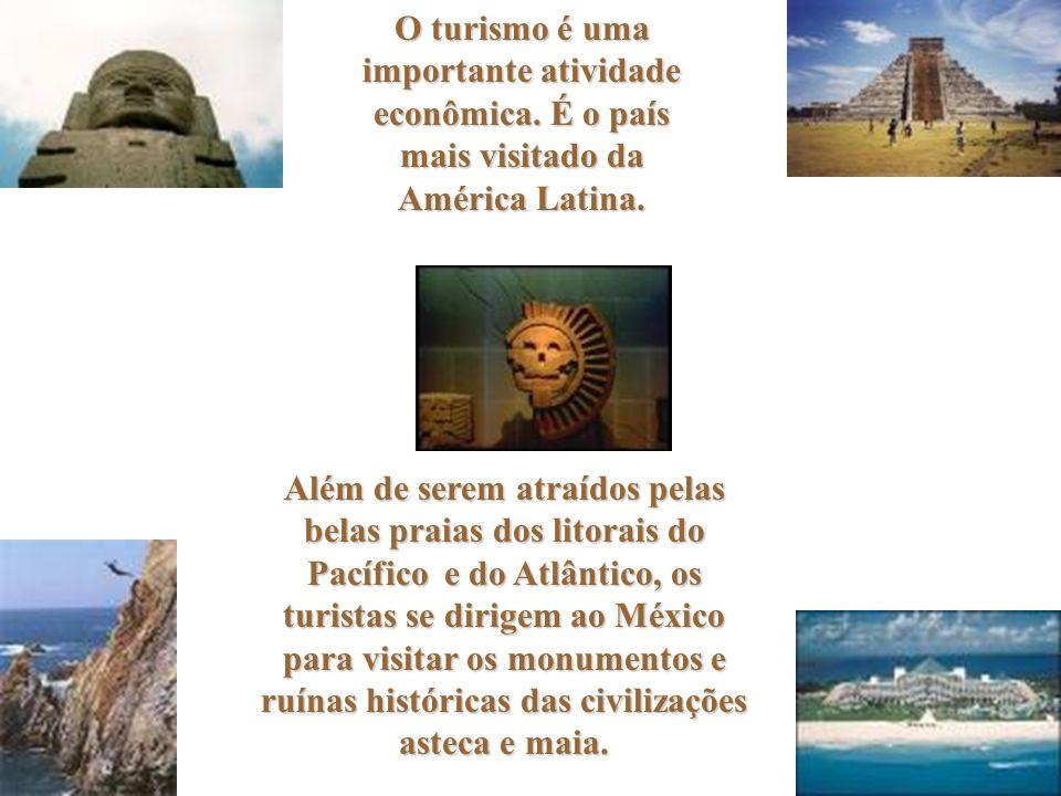 O turismo é uma importante atividade econômica.É o país mais visitado da América Latina.