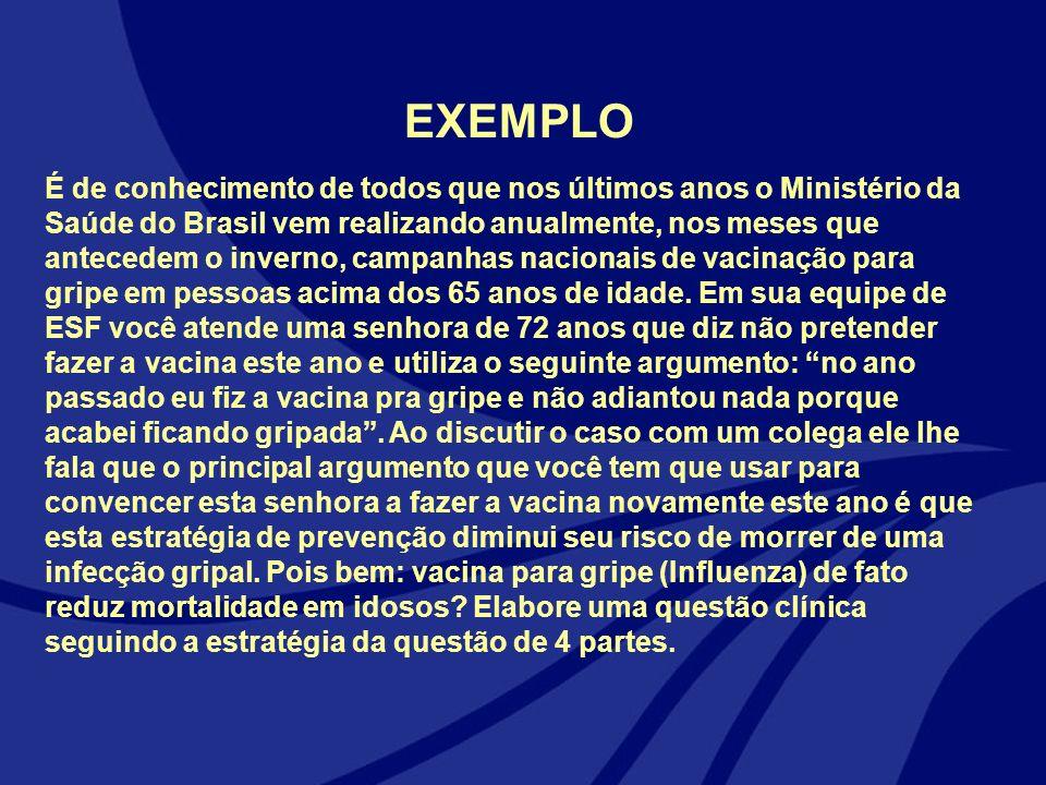 É de conhecimento de todos que nos últimos anos o Ministério da Saúde do Brasil vem realizando anualmente, nos meses que antecedem o inverno, campanha