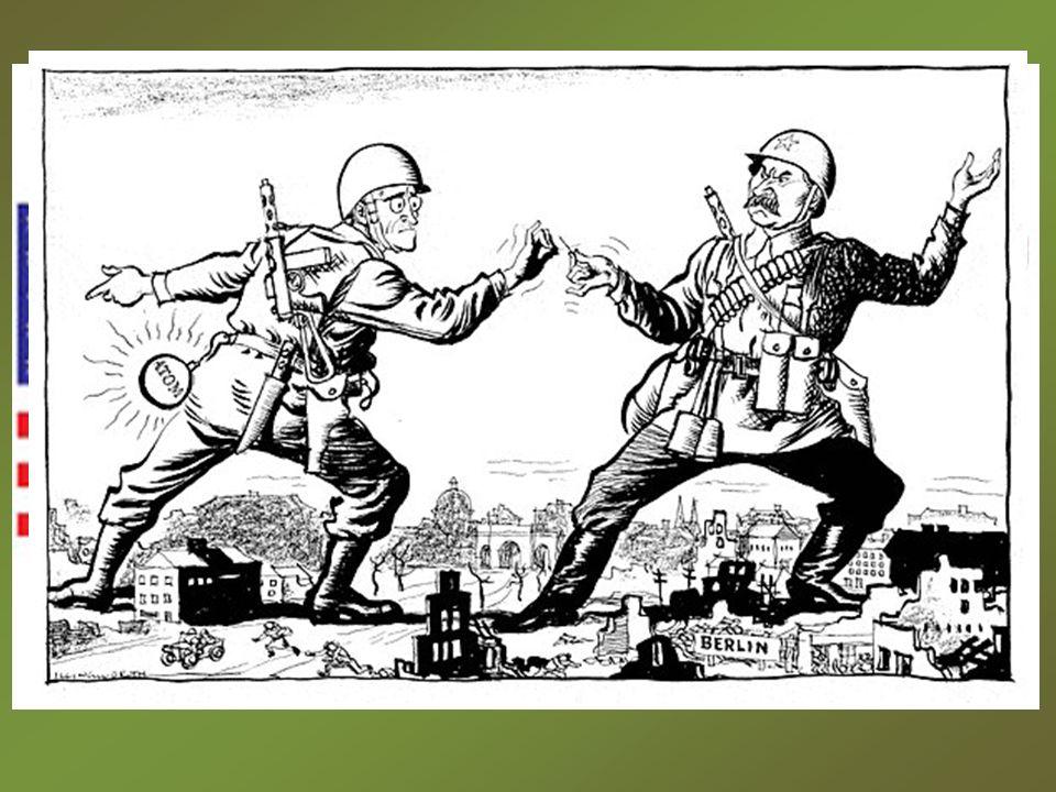 Guerra Fria: Guerra Fria: – Confronto entre URSS e EUA em vários campos. Doutrina da Guerra Fria: Doutrina da Guerra Fria: – Com a Doutrina Truman: Co