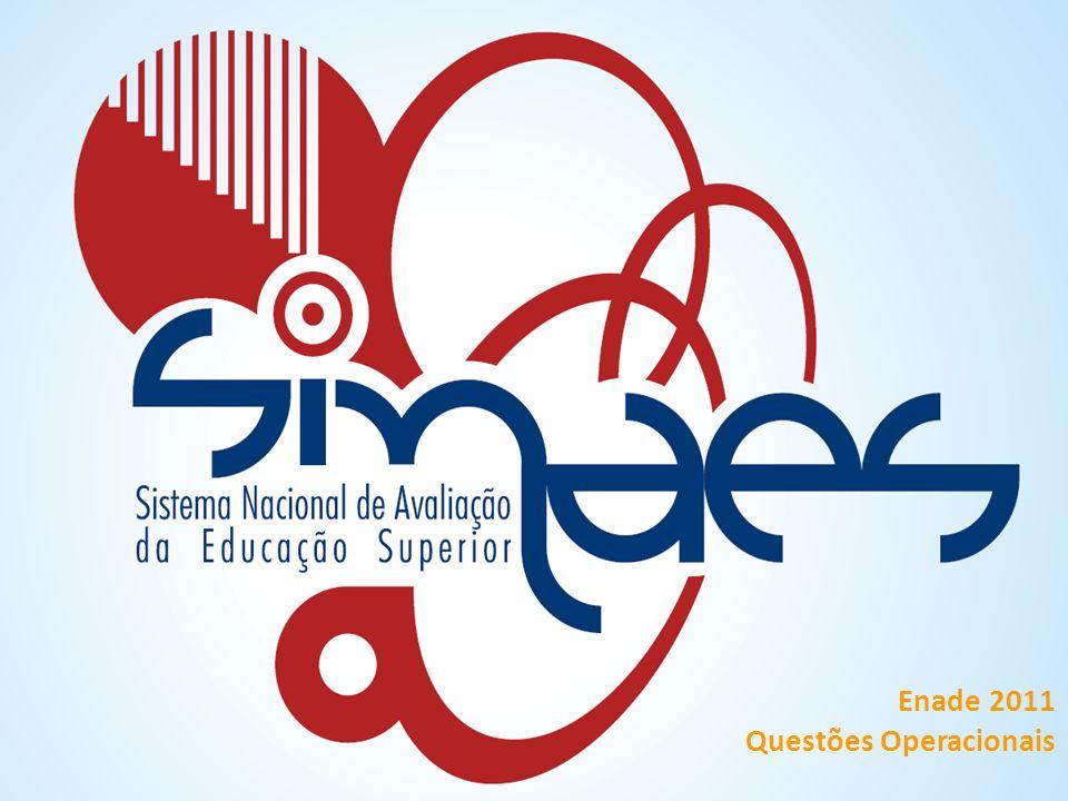 Enade 2011 Questões Operacionais
