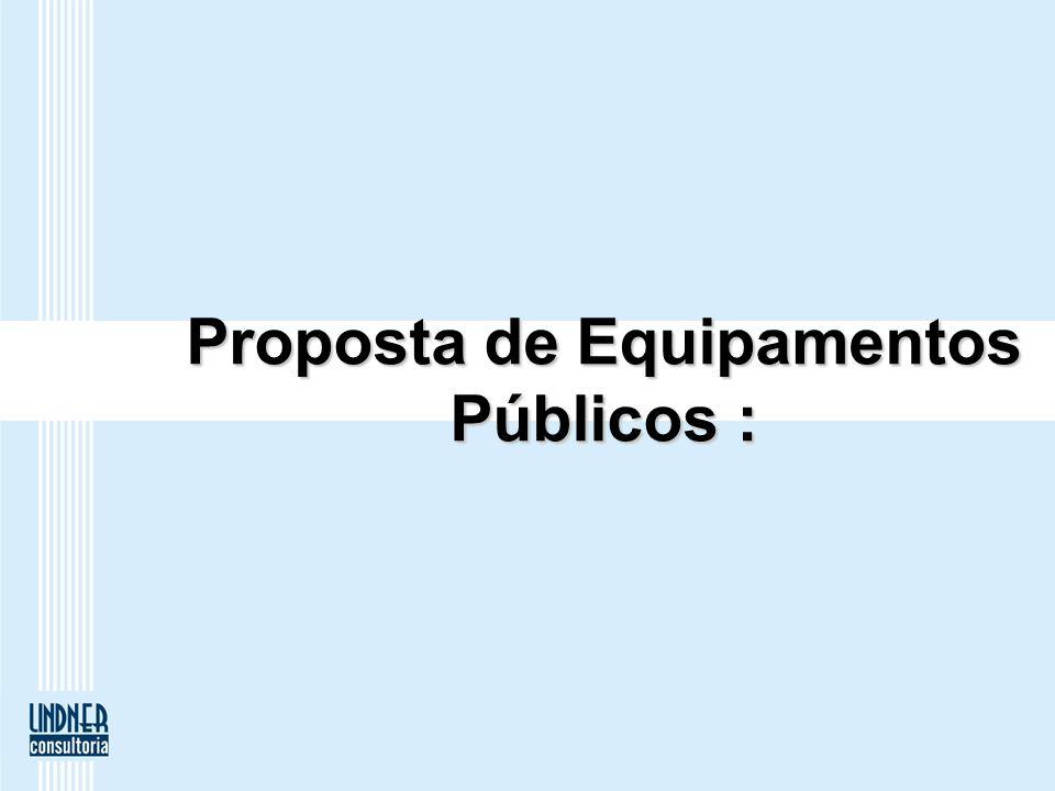 Proposta de Equipamentos Públicos :