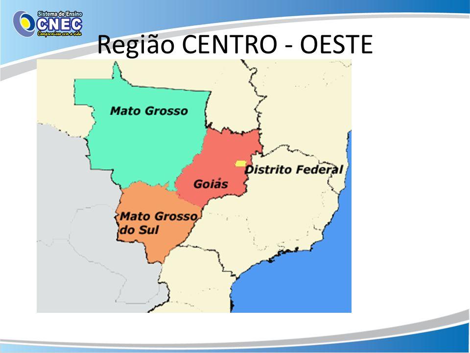 Região CENTRO - OESTE