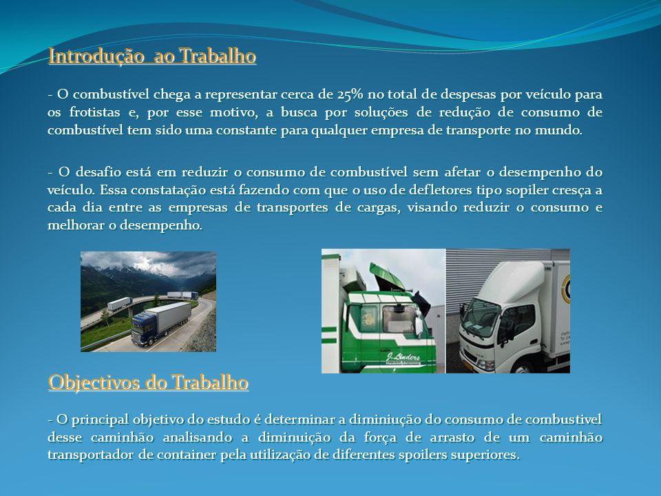 Introdução ao Trabalho - O combustível chega a representar cerca de 25% no total de despesas por veículo para os frotistas e, por esse motivo, a busca