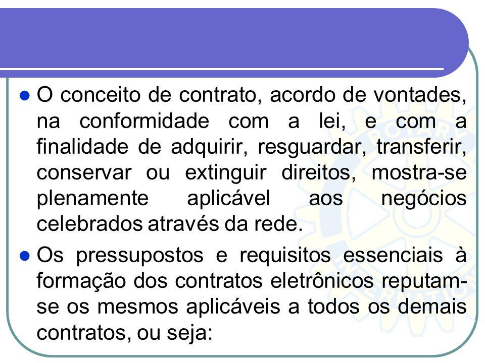 O conceito de contrato, acordo de vontades, na conformidade com a lei, e com a finalidade de adquirir, resguardar, transferir, conservar ou extinguir