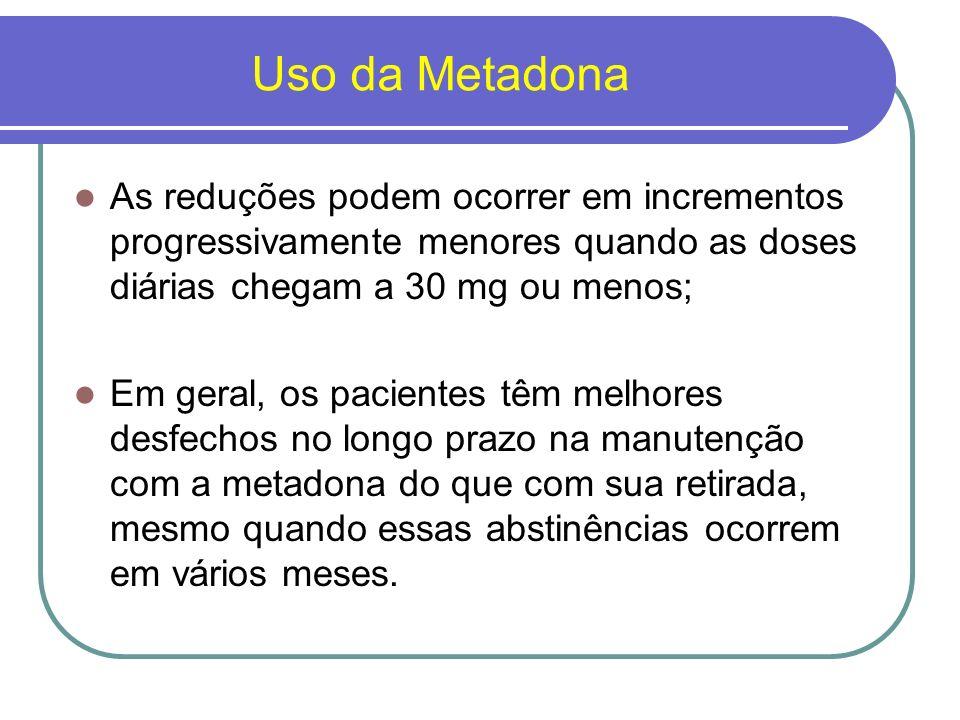 Buprenorfina É um agonista parcial dos receptores de opióides tipo um; Demonstrou resultados promissores no manejo da síndrome de abstinência de opióides; É mais potente que a meperidina e pode ser administrada pela via sublingual ou parenteral;