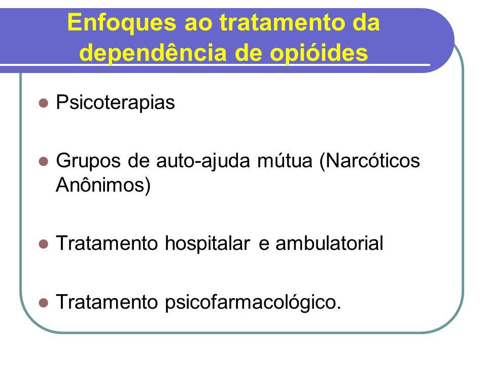 Intoxicação por opióides A intoxicação por opióides por si só não leva os indivíduos a procurar tratamento médico Overdoses de opióides geralmente ocorrem: 1.
