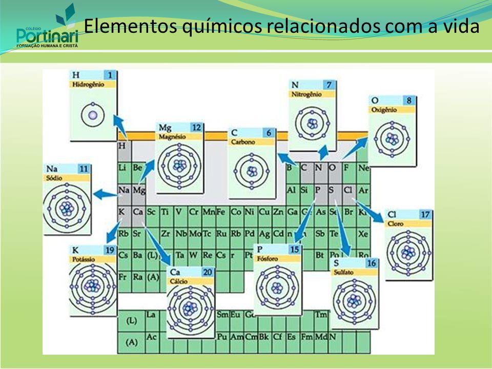 Elementos químicos relacionados com a vida
