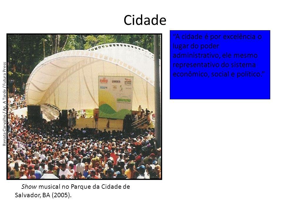 Cidade Show musical no Parque da Cidade de Salvador, BA (2005).