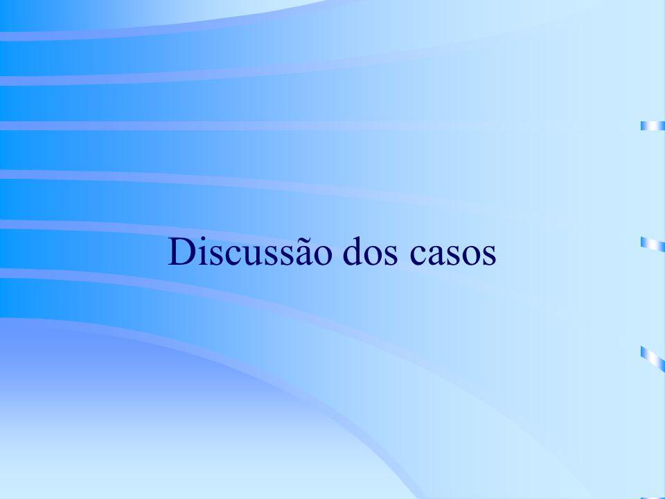 Discussão dos casos