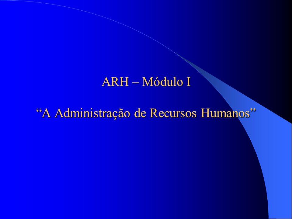 3.Políticas de Manutenção de Recursos Humanos I.