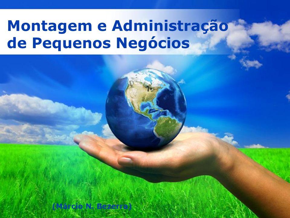 Page 1 Montagem e Administração de Pequenos Negócios (Márcio N. Bezerra)