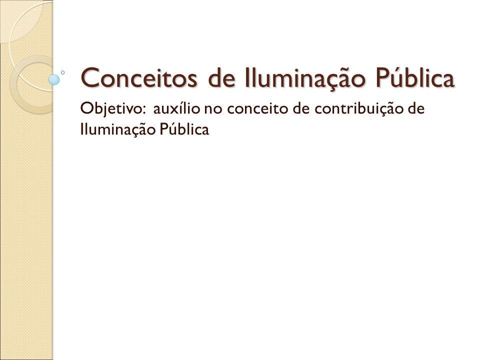 Iluminação Pública Resolução 456 - Tarifas Art.116 Art.