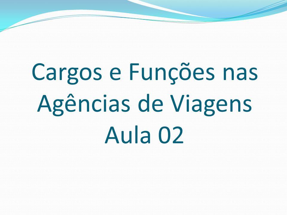 Auxiliar Administrativo Cargo subordinado ao gerente e ao agente administrativo, tem a função de cumprir e realizar as ações administrativas determinadas.
