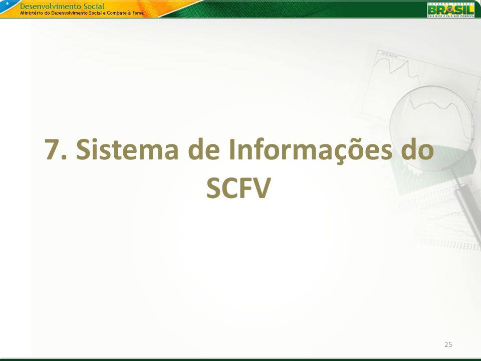 25 7. Sistema de Informações do SCFV