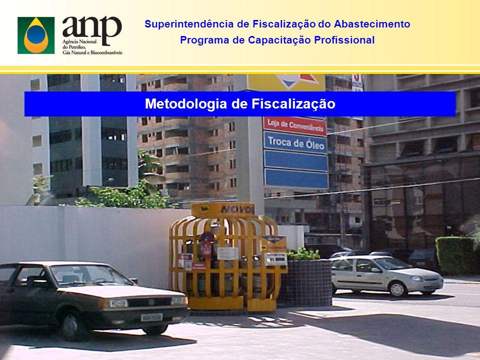 Superintendência de Fiscalização do Abastecimento Programa de Capacitação Profissional Metodologia de Fiscalização