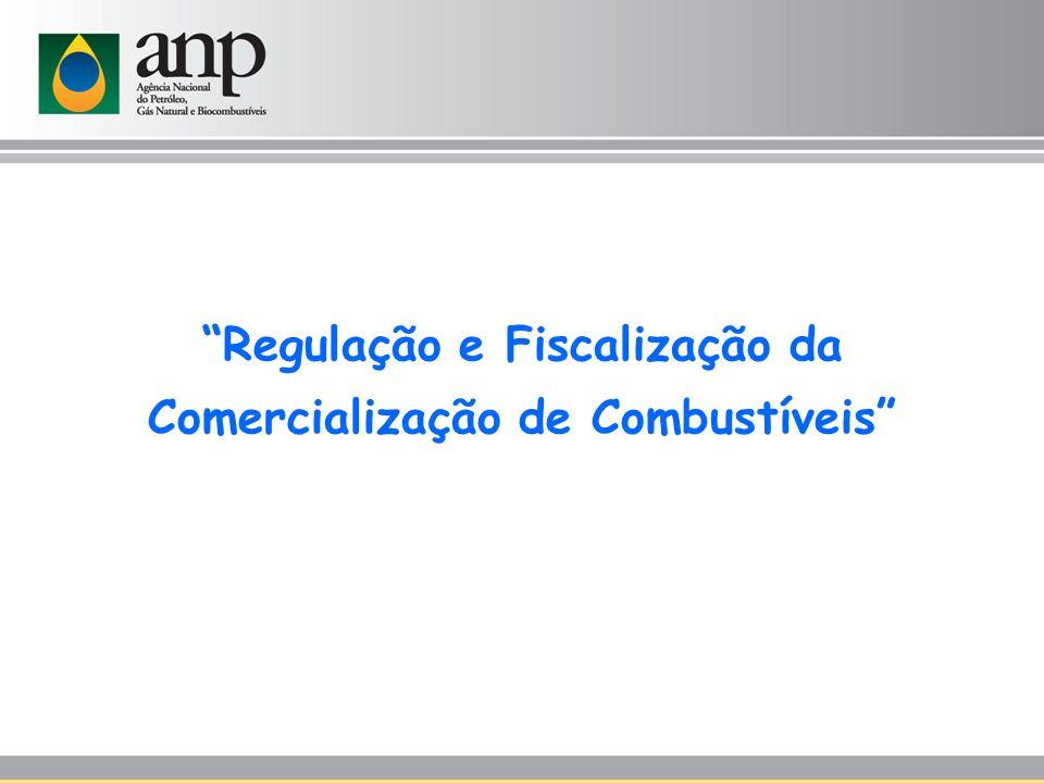 Regulação e Fiscalização da Comercialização de Combustíveis