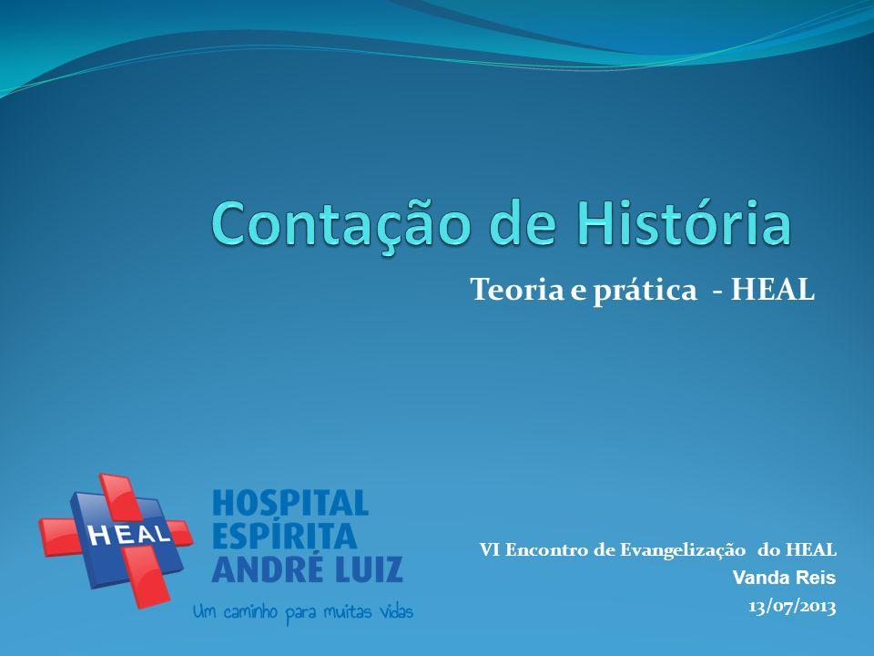 Teoria e prática - HEAL VI Encontro de Evangelização do HEAL Vanda Reis 13/07/2013