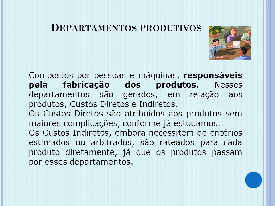 As atividades administrativas, comerciais e de produção de uma empresa industrial poderão estar estruturalmente divididas nas seguintes seções: Admini