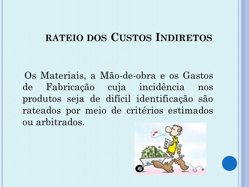 Os custos Indiretos de Fabricação são portanto todos os custos de produção não facilmente e/ou não economicamente associáveis a determinado(s) produto
