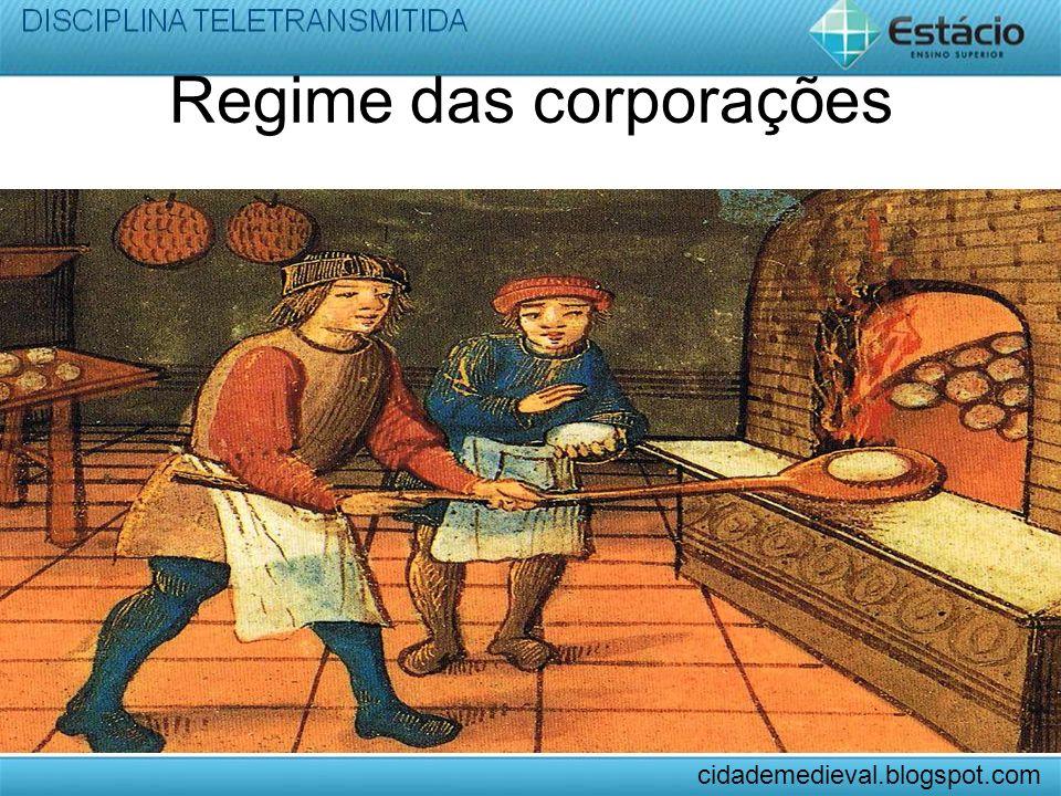 Regime das corporações cidademedieval.blogspot.com