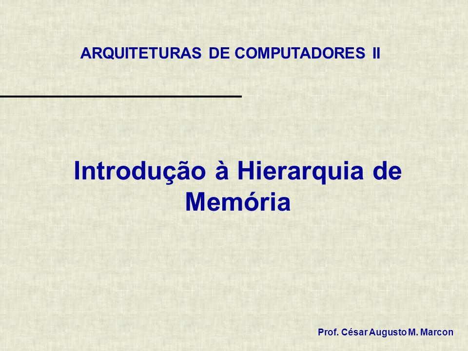 2 / 19 Índice 1. Introdução 2. Hierarquia de Memória