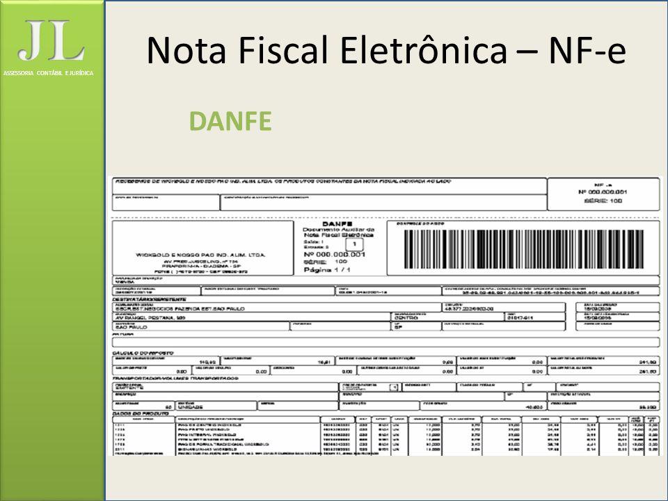 ASSESSORIA CONTÁBIL E JURÍDICA Nota Fiscal Eletrônica – NF-e DANFE