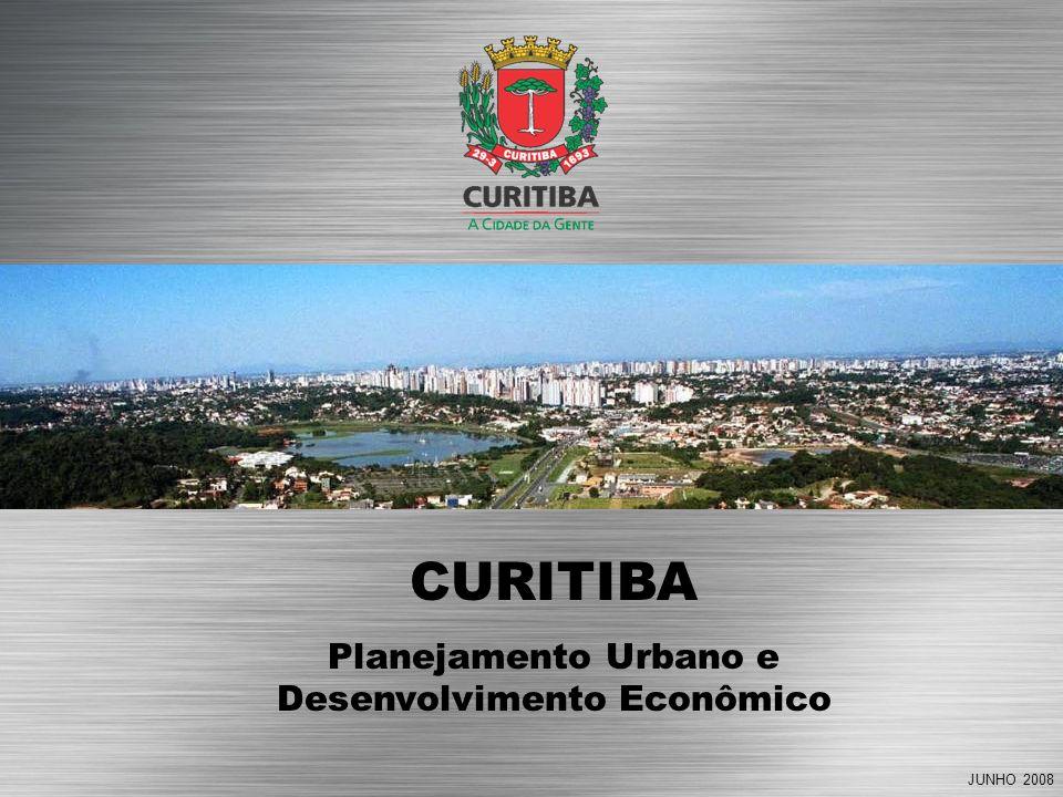 JUNHO 2008 CURITIBA Planejamento Urbano e Desenvolvimento Econômico