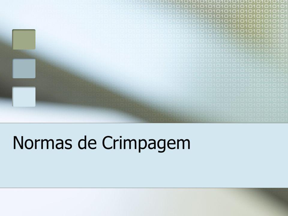 Normas de Crimpagem