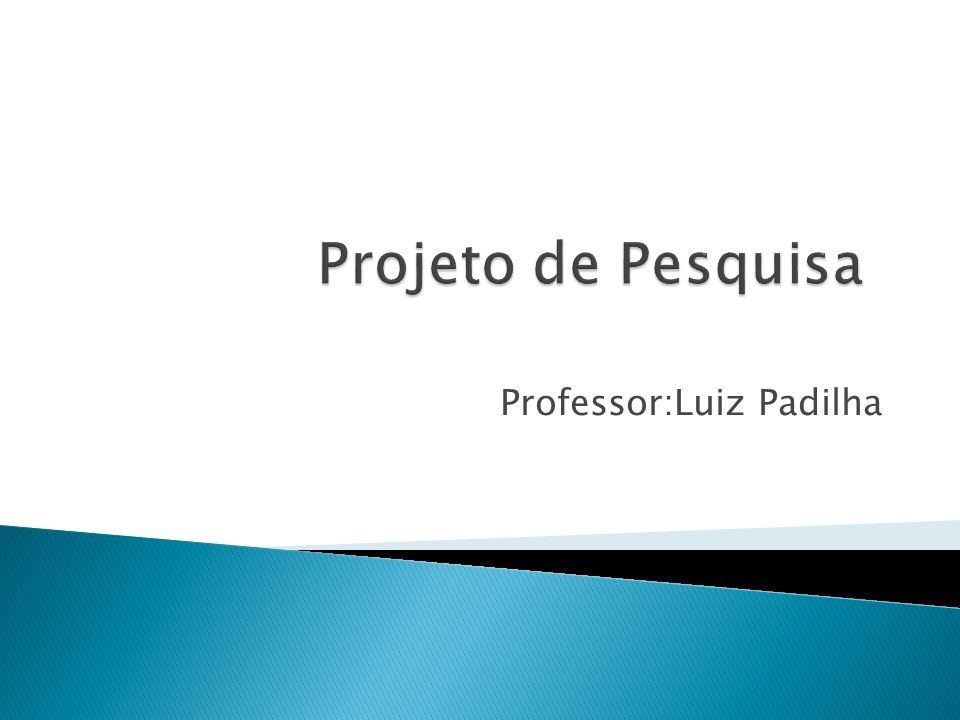 Professor:Luiz Padilha