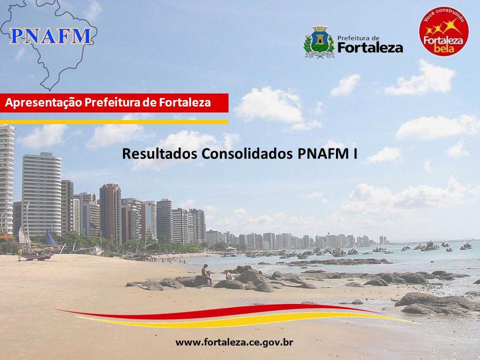 www.fortaleza.ce.gov.br Apresentação Prefeitura de Fortaleza Resultados Consolidados PNAFM I